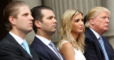 It's costing a fortune to protect the Trump family