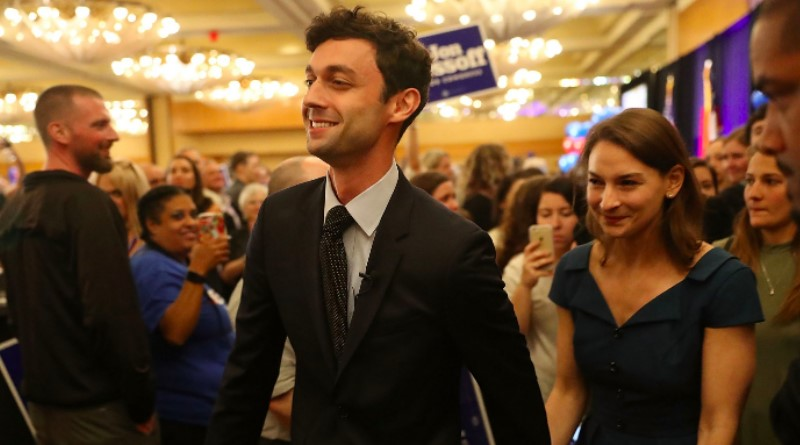 Democrat In Georgia Falls Just Short Of Knockout Blow