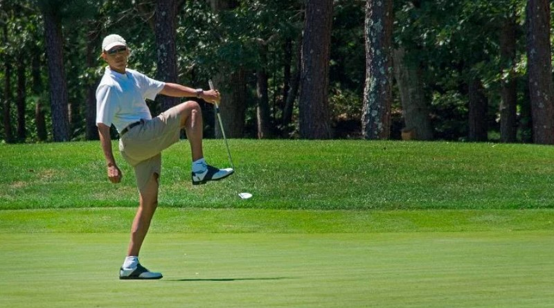 Obama has now spent more than a 3rd of his presidency at his properties and a 4th at his golf clubs