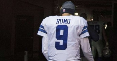 Cowboys' Tony Romo rubbed elbows with Broncos' GM John Elway in D.C.