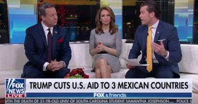 "FOX News – The ""Real"" News – Announces Trump Cuts U.S. Aid To 3 Mexican Countries – 3 – NOT Including Mexico"
